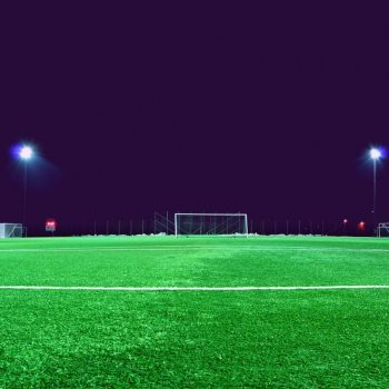 Football pitch goal
